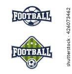 football badge logos | Shutterstock .eps vector #426073462