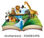 Book Of Wild Animals At...