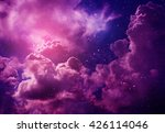 space of night sky with cloud... | Shutterstock . vector #426114046