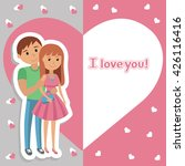 vector picture with... | Shutterstock .eps vector #426116416