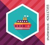 transportation ferry flat icon... | Shutterstock .eps vector #426117355