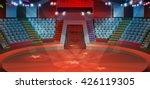 Circus Arena  Vector Background