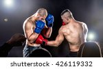 boxing fight | Shutterstock . vector #426119332