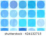 abstract background. blue mosaic   Shutterstock . vector #426132715