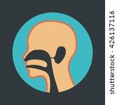 ear nose and throat logo vector | Shutterstock .eps vector #426137116