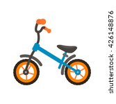 modern children's bicycle icon... | Shutterstock .eps vector #426148876