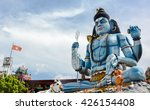 god shiva statue at hindu... | Shutterstock . vector #426154408