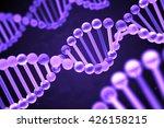 glass dna structure 3d rendering   Shutterstock . vector #426158215
