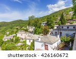 view of pinakates village ... | Shutterstock . vector #426160672