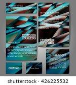 corporate identity template set....   Shutterstock .eps vector #426225532