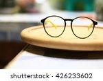 glasses accessories... | Shutterstock . vector #426233602