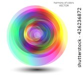 abstract colorful circles... | Shutterstock .eps vector #426236872