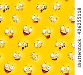 seamless smiley face pattern... | Shutterstock .eps vector #426255118