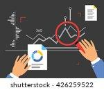 analyzing process | Shutterstock .eps vector #426259522