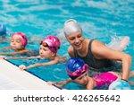 swimming school   swimming... | Shutterstock . vector #426265642