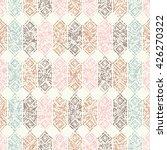 ethnic boho seamless pattern.... | Shutterstock .eps vector #426270322