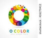 "letter ""o"" business colorful... 