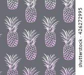 vector pineapple seamless  | Shutterstock .eps vector #426272995