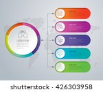 infographic design vector and...   Shutterstock .eps vector #426303958