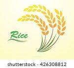 rice vector illustration. | Shutterstock .eps vector #426308812
