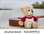Ukulele And Teddy Bears On ...