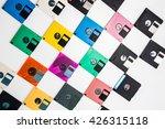 floppy disk magnetic computer... | Shutterstock . vector #426315118
