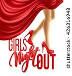 girl night out party design.... | Shutterstock .eps vector #426316948