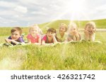 summer  childhood  leisure and... | Shutterstock . vector #426321742