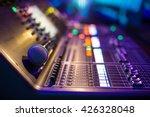 modern show sound controller... | Shutterstock . vector #426328048