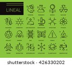 line vector icons in a modern... | Shutterstock .eps vector #426330202