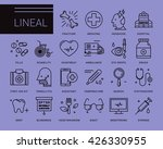 line vector icons in a modern...   Shutterstock .eps vector #426330955