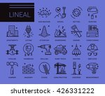 line vector icons in a modern...   Shutterstock .eps vector #426331222