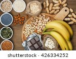 products containing magnesium ... | Shutterstock . vector #426334252