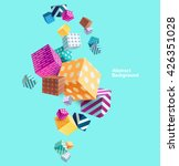 abstract colorful background... | Shutterstock .eps vector #426351028