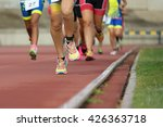 athletics people running on the ... | Shutterstock . vector #426363718