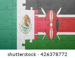 puzzle with the national flag... | Shutterstock . vector #426378772