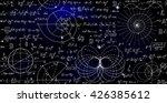 mathematical vector endless... | Shutterstock .eps vector #426385612