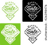 spring is over but sale just... | Shutterstock .eps vector #426398476
