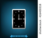 clock icon vector illustration | Shutterstock .eps vector #426400318