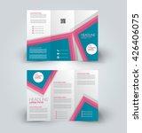 brochure mock up design... | Shutterstock .eps vector #426406075