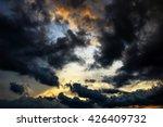 storm in the sky. | Shutterstock . vector #426409732
