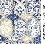 seamless patchwork pattern from ... | Shutterstock .eps vector #426418405