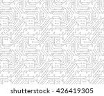 circuit board background.... | Shutterstock .eps vector #426419305