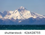 Mount Redoubt seen from Anchor point Alaska