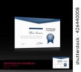 certificate of appreciation ... | Shutterstock .eps vector #426440008