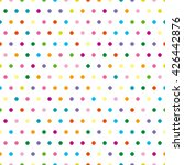 pattern in the small dots. tile ... | Shutterstock .eps vector #426442876