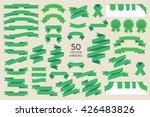 vector banner ribbons. set of... | Shutterstock .eps vector #426483826