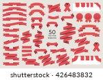 Vector banner Ribbons. Set of 50 ribbons | Shutterstock vector #426483832