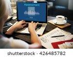 assessment audit evaluation... | Shutterstock . vector #426485782