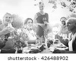 friends friendship outdoor... | Shutterstock . vector #426488902